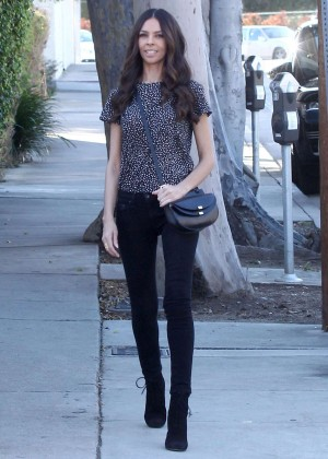 Terri Seymour in Tight Jeans out in West Hollywood