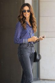 Terri Seymour - Leaves lunch in Beverly Hills