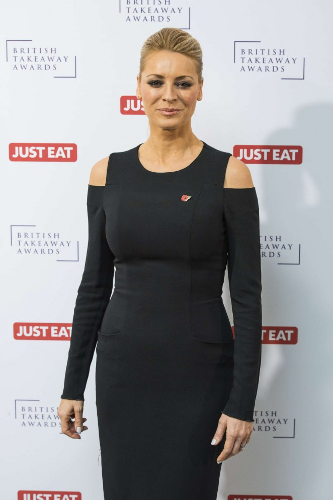 Tess Daly - British Takeaway Awards 2015 in London