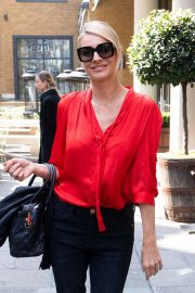 Tess Daly - Leaving Ham Yard Hotel in London