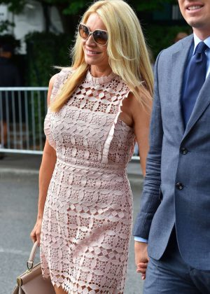 Tess Daly - Wimbledon Tennis Championships in London