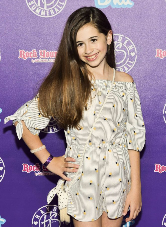Tessa Espinola Hayden Summerall S 13th Birthday Bash In