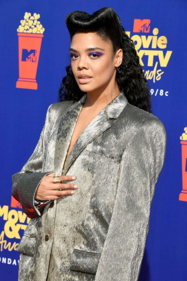 Tessa Thompson - 2019 MTV Movie and TV Awards Red Carpet in Santa Monica