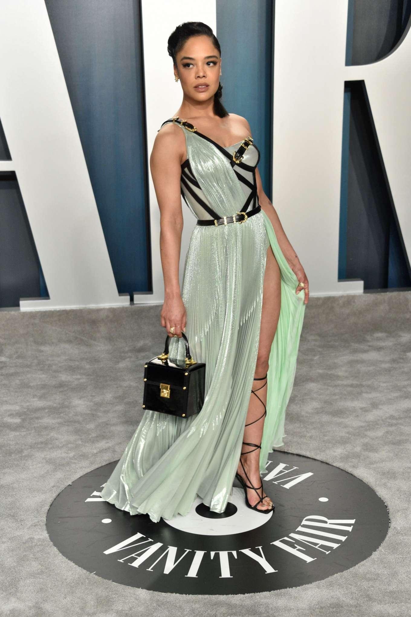 Tessa Thompson 2020 : Tessa Thompson – 2020 Vanity Fair Oscar Party in Beverly Hills-01