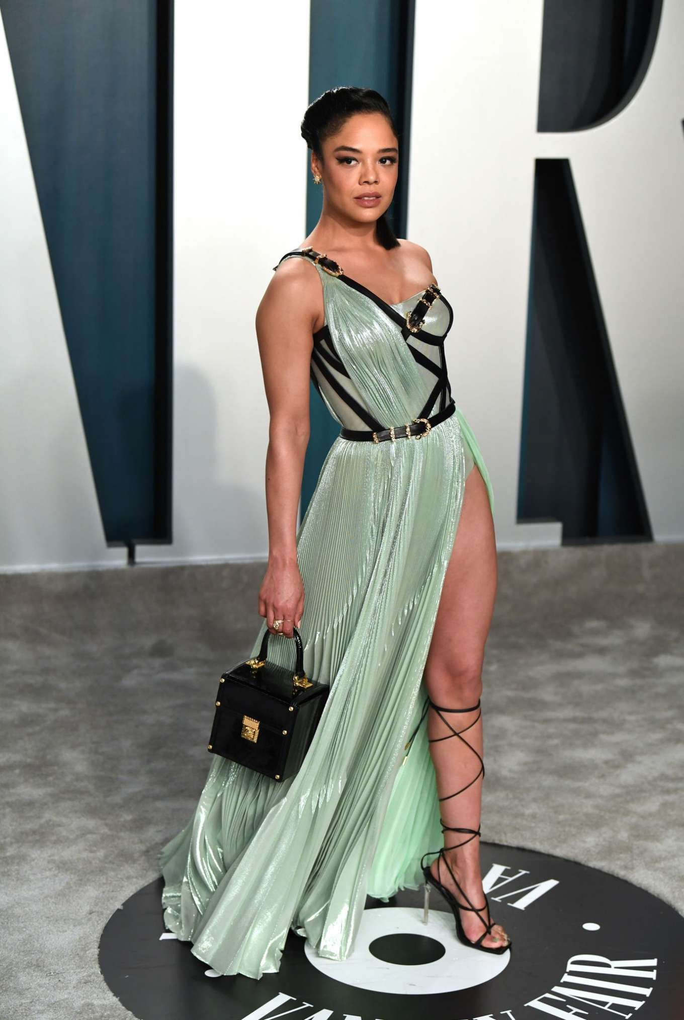 Tessa Thompson - 2020 Vanity Fair Oscar Party in Beverly Hills