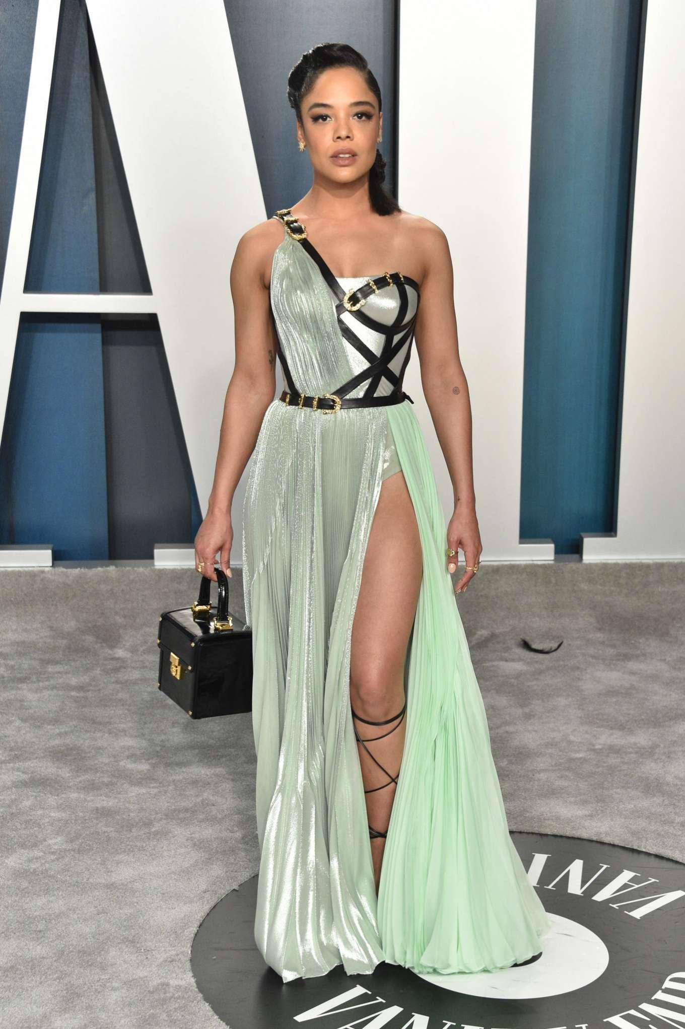 Tessa Thompson 2020 : Tessa Thompson – 2020 Vanity Fair Oscar Party in Beverly Hills-03