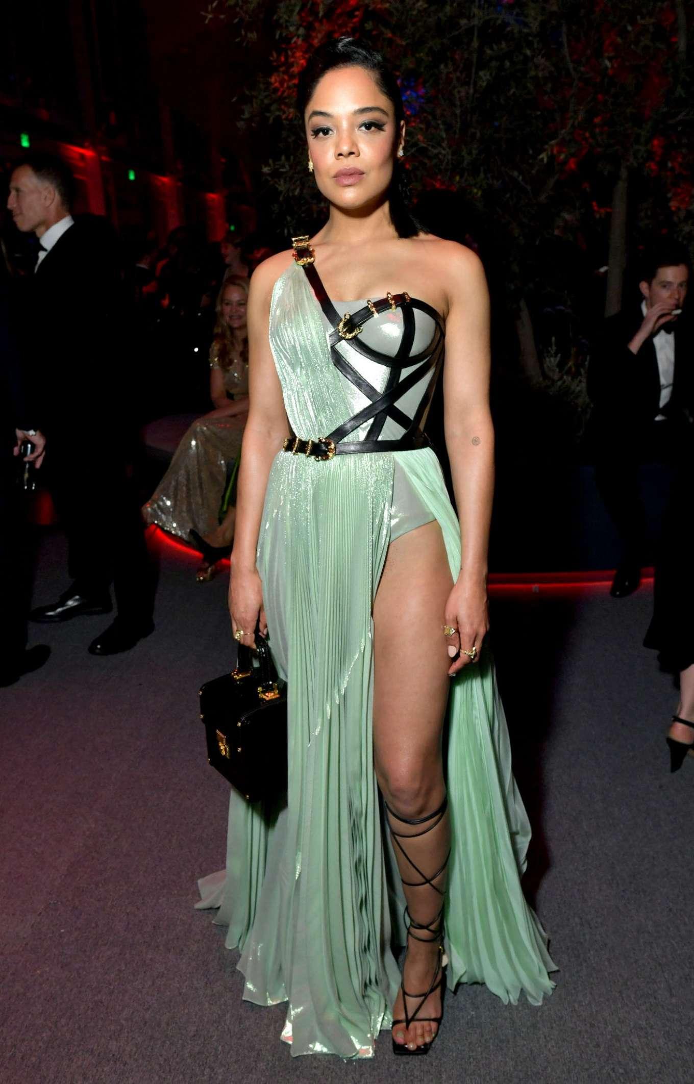 Tessa Thompson 2020 : Tessa Thompson – 2020 Vanity Fair Oscar Party in Beverly Hills-05