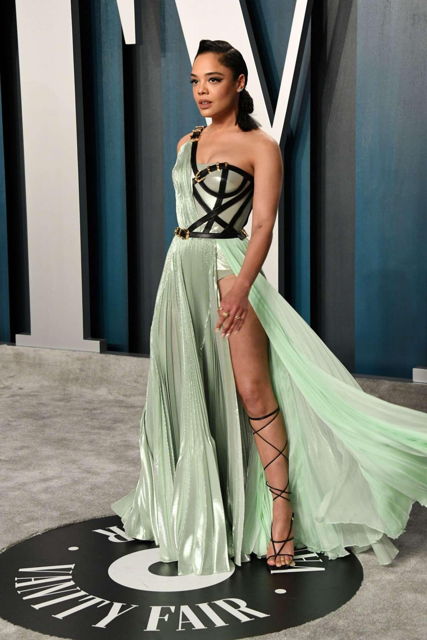 Tessa Thompson 2020 : Tessa Thompson – 2020 Vanity Fair Oscar Party in Beverly Hills-07
