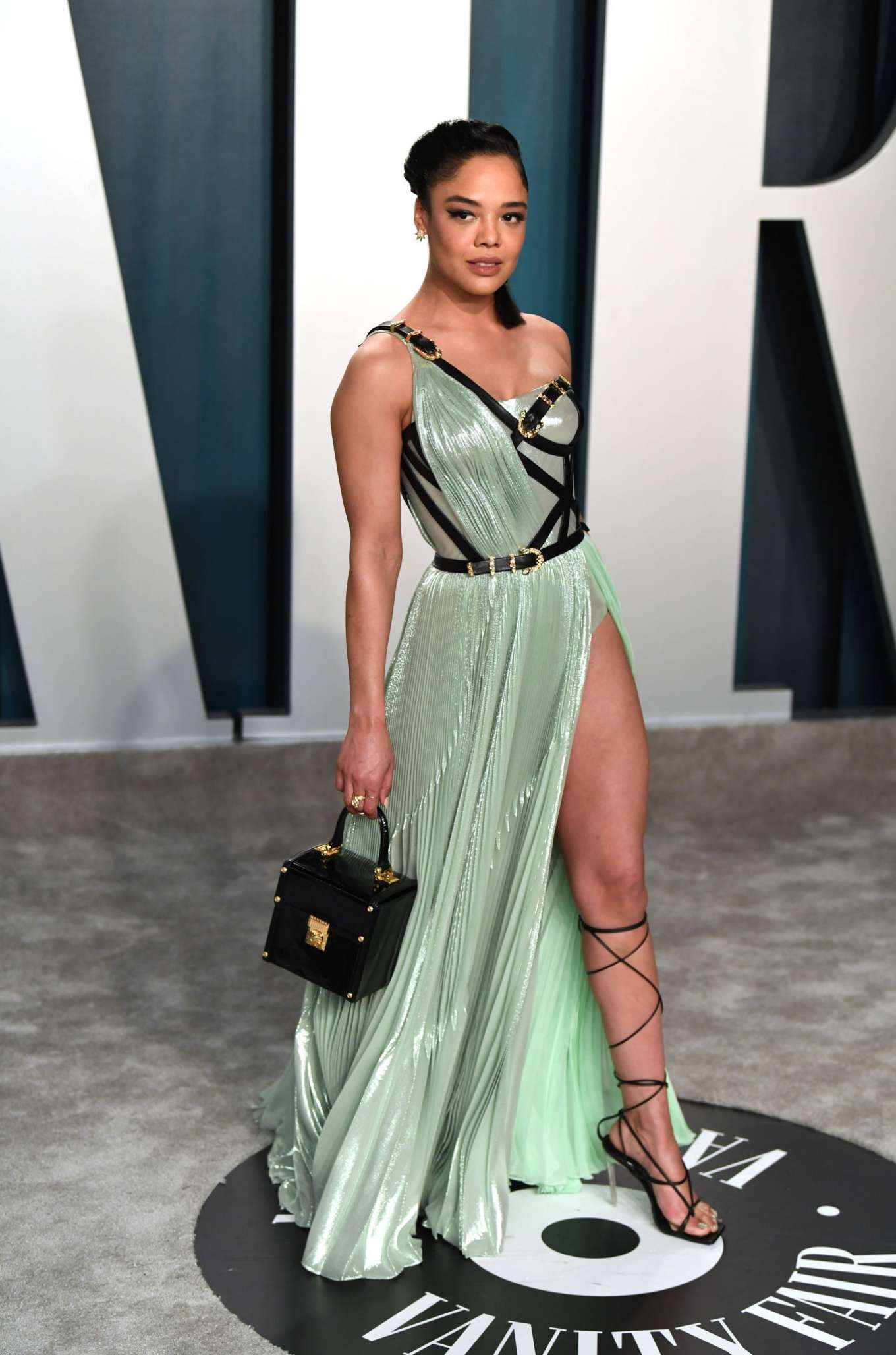 Tessa Thompson 2020 : Tessa Thompson – 2020 Vanity Fair Oscar Party in Beverly Hills-08