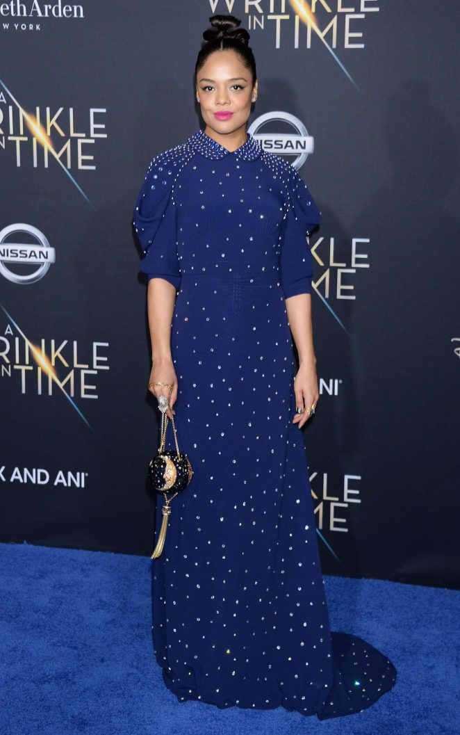 Tessa Thompson - 'A Wrinkle in Time' Premiere in Los Angeles