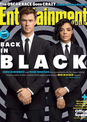 Tessa Thompson and Chris Hemsworth - Entertainment Weekly (January 2019)