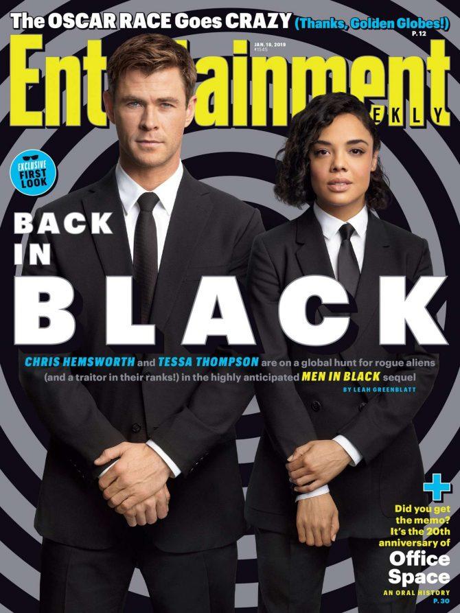 Tessa Thompson and Chris Hemsworth – Entertainment Weekly (January 2019)