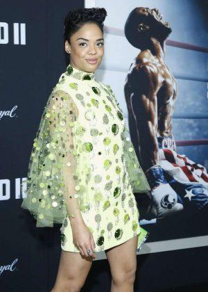 Tessa Thompson - 'Creed 2' Premiere in New York
