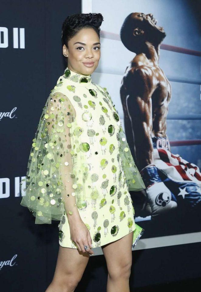 Tessa Thompson – 'Creed 2' Premiere in New York