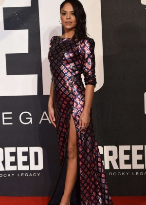 Tessa Thompson - 'Creed' Premiere in London