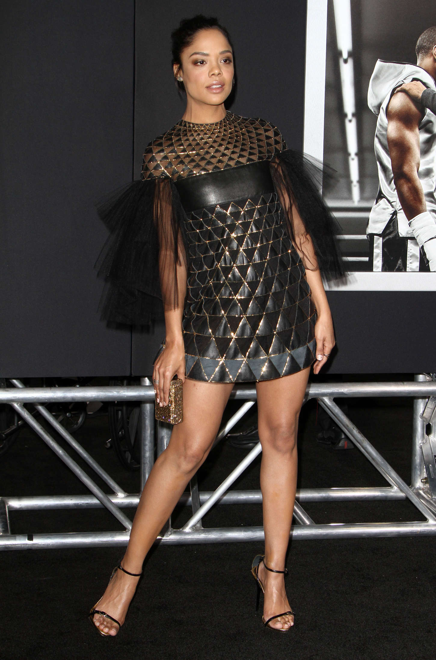 Tessa Thompson Creed Premiere 10 Gotceleb