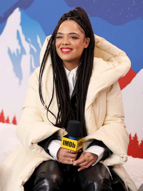 Tessa Thompson - IMDb Studio at the 2020 Sundance Film Festival in Park City