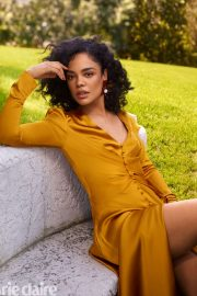 Tessa Thompson - Marie Claire US Magazine (July 2019)