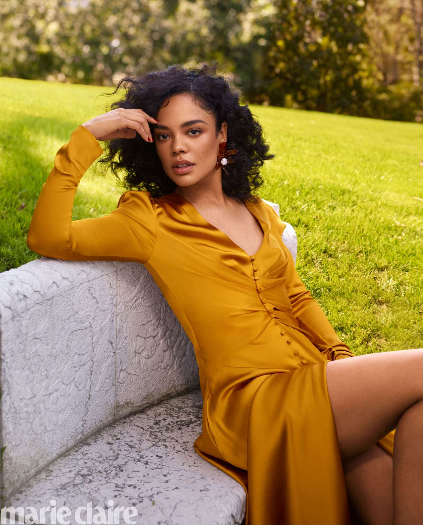 Tessa Thompson 2019 : Tessa Thompson: Marie Claire US 2019-05