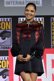 Tessa Thompson - Marvel Panel at Comic Con San Diego 2019