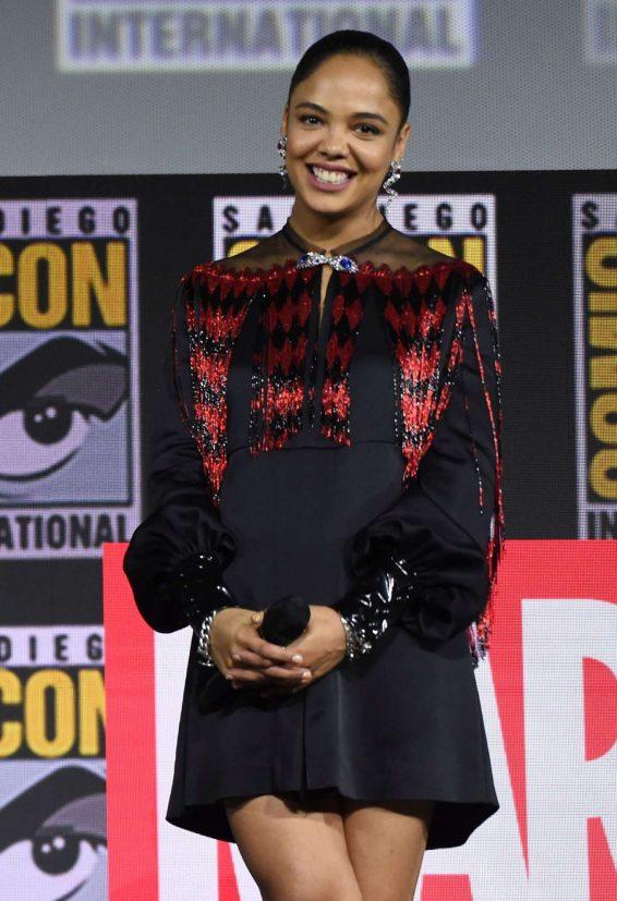 Tessa Thompson - Marvel Panel at Comic Con San Diego 2019