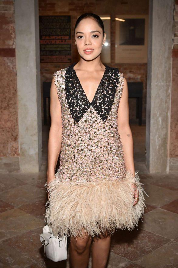 Tessa Thompson - Miu Miu Women's Tales Dinner at 76th Venice Film Festival