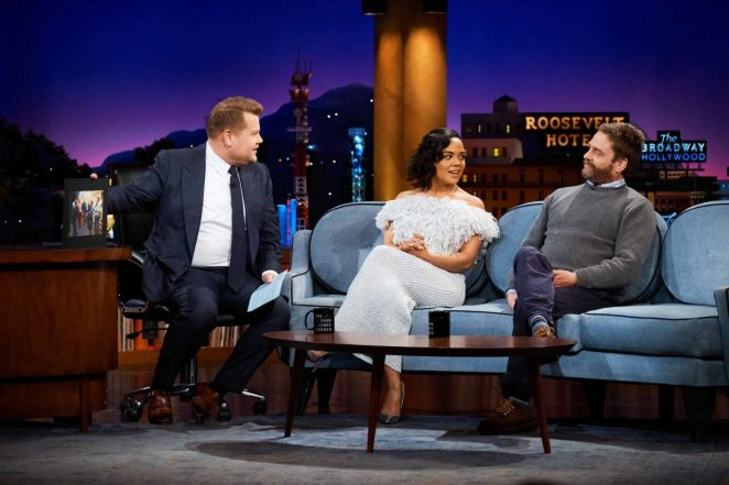 Tessa Thompson - 'The Late Late Show with James Corden' in LA