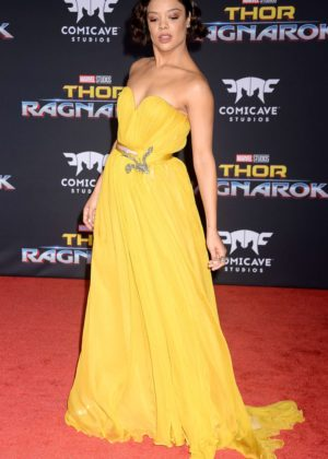 Tessa Thompson - 'Thor: Ragnarok' Premiere in Los Angeles