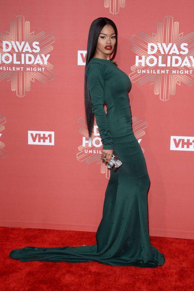 Teyana Taylor - 2016 VH1's Divas Holiday: Unsilent Night in NY