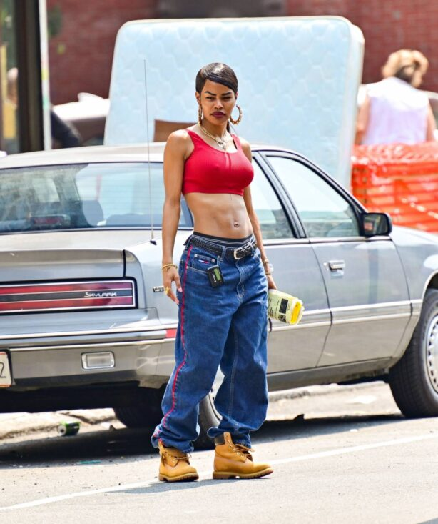 Teyana Taylor - 'A Thousand and One' set in Harlem in New York City