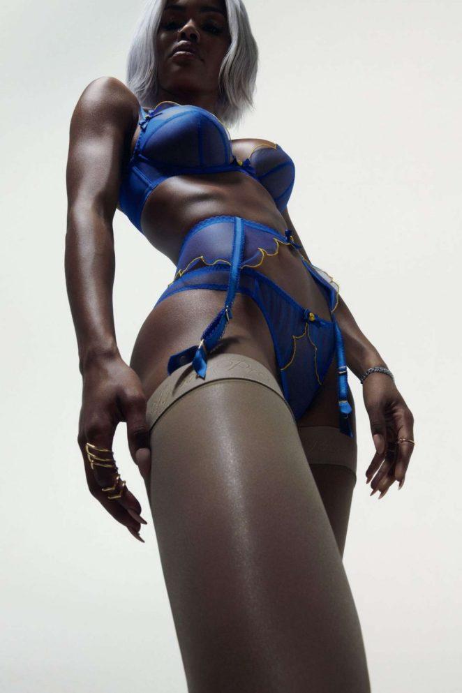 Teyana Taylor – Agent Provocateur 2018 Campaign