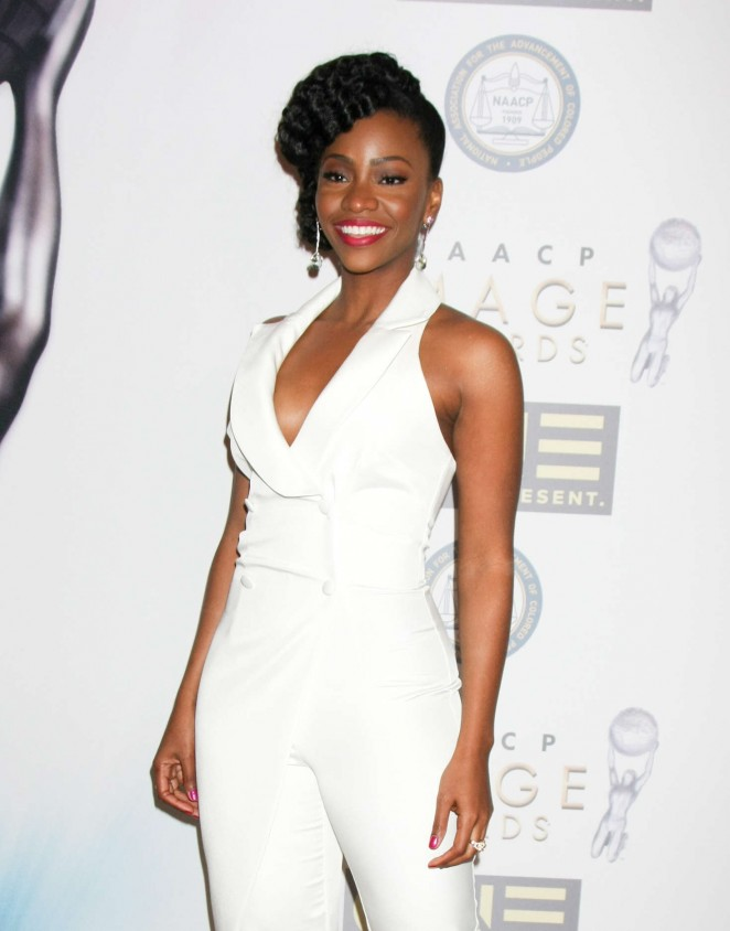 Teyonah Parris - 2016 NAACP Image Awards Nominees' Luncheon in LA