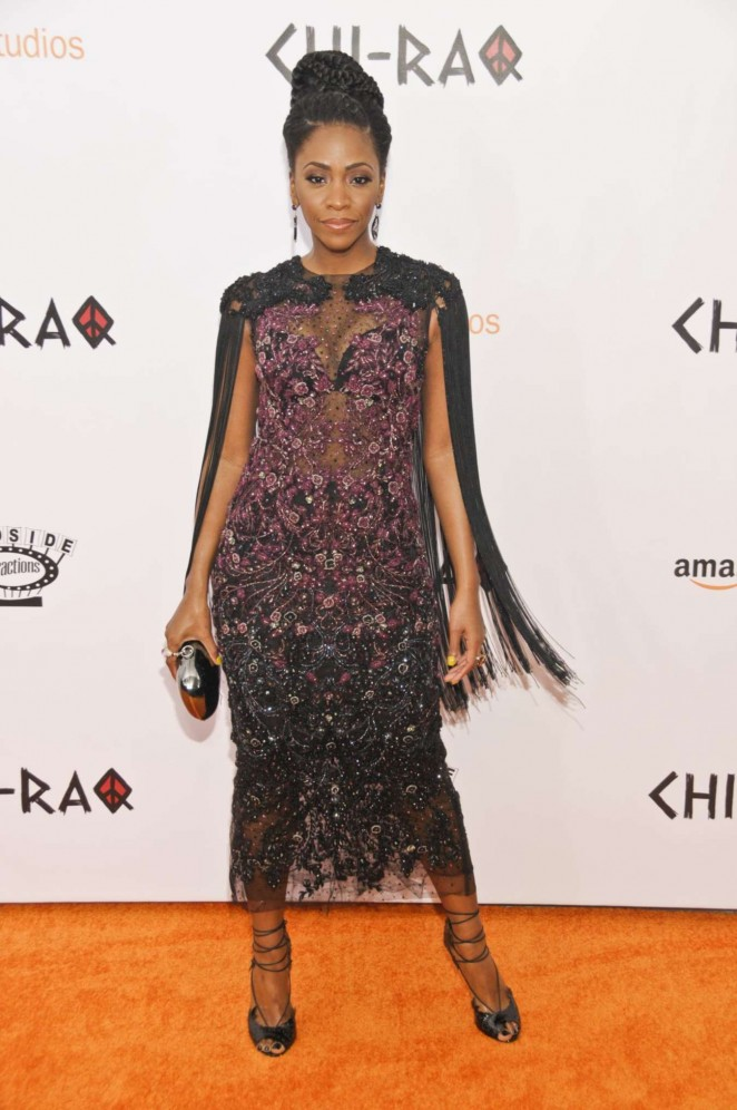 Teyonah Parris - 'Chi-Raq' Premiere in New York