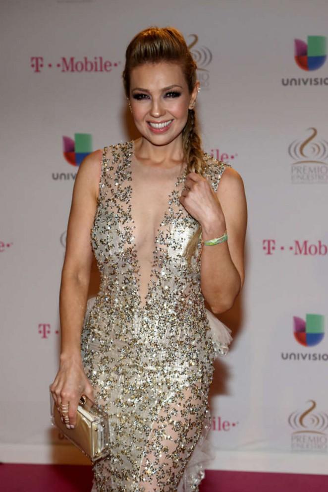 Thalia - 2015 Premios Lo Nuestros Awards in Miami