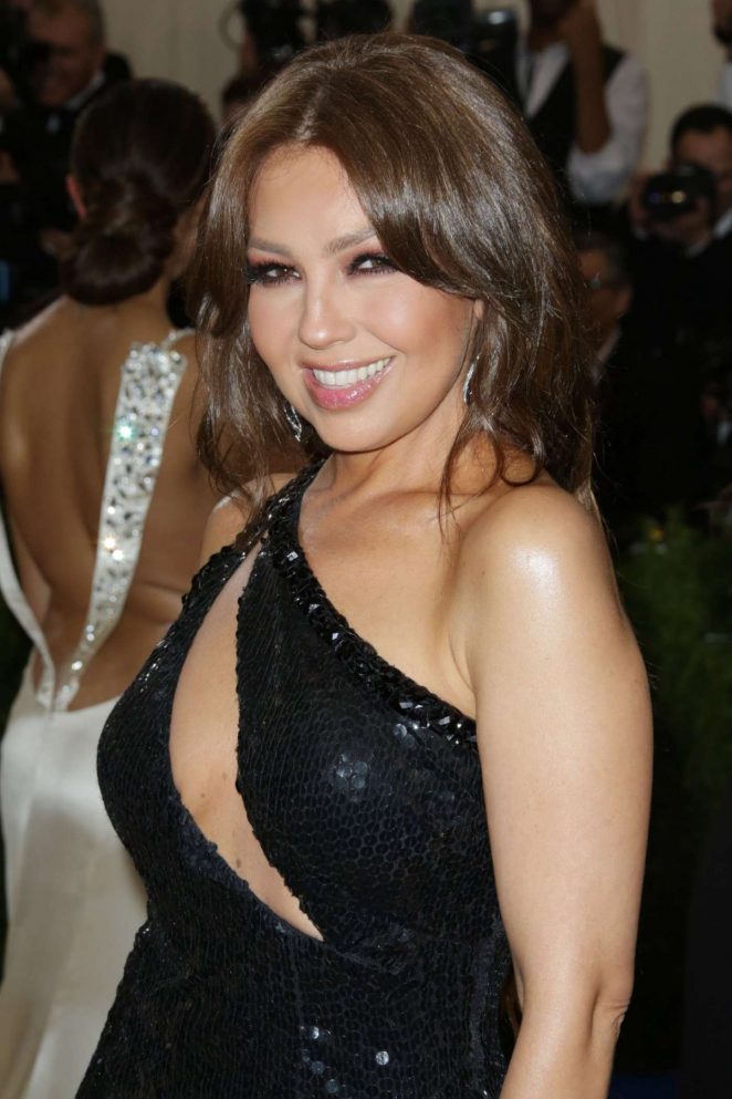 Thalia 2017 Met Costume Institute Gala In Nyc