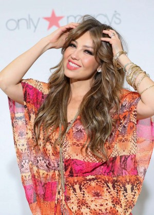 Thalia - Celebrate the Release of her new Album Latina in New York