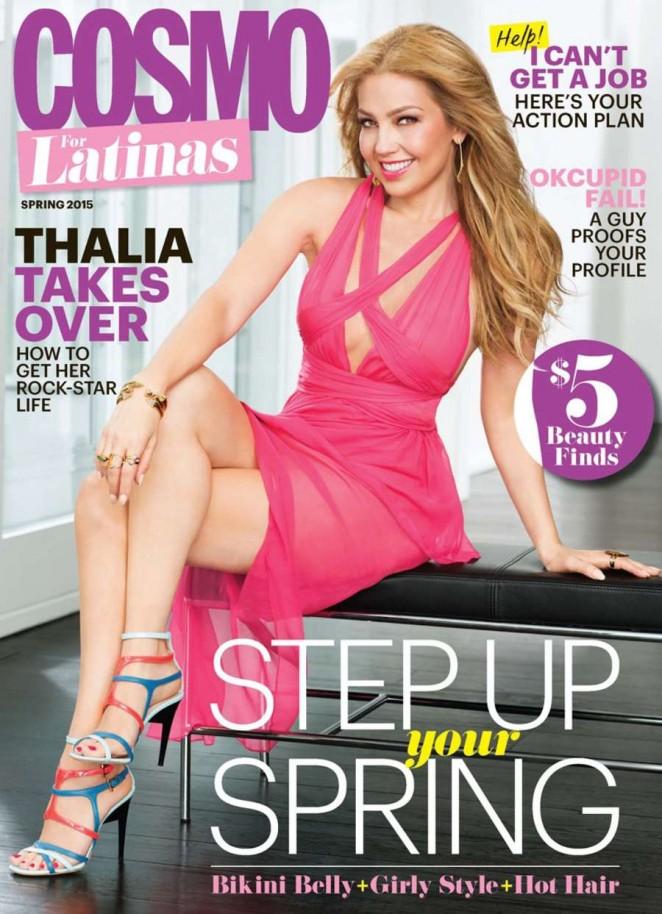 Thalia - Cosmo for Latinas Magazine (Spring 2015)