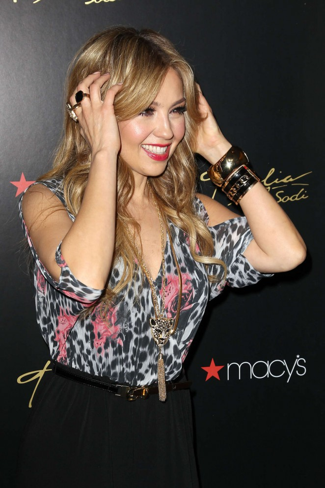 Thalia - Launch of her Sodi Collection at Macy's Herald Square in NYC