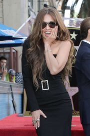 Thalia - Tommy Mottola's Walk of Fame Ceremony in Los Angeles