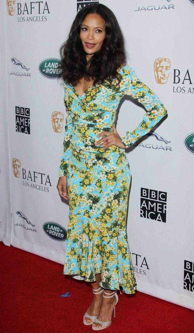 Thandie Newton - BAFTA Los Angeles + BBC America TV Tea Party in LA