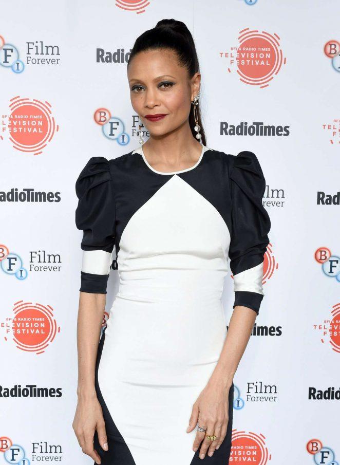 Thandie Newton - BFI Radio Times TV Festival in London