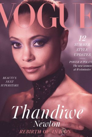 Thandie Newton - British Vogue - May 2021