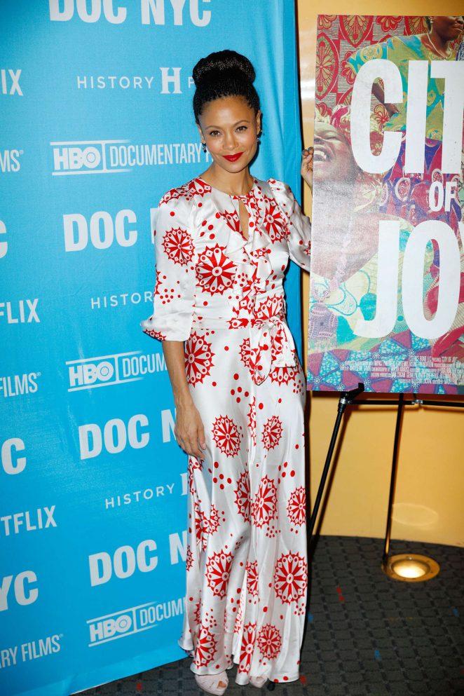 Thandie Newton: City Of Joy NY Premiere -05