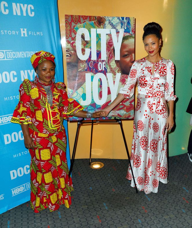 Thandie Newton: City Of Joy NY Premiere -07