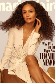 Thandie Newton -  Marie Claire magazine May 2019