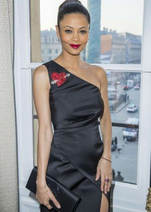 Thandie Newton - Schiapparelli Fashion Show SS 2017 in Paris