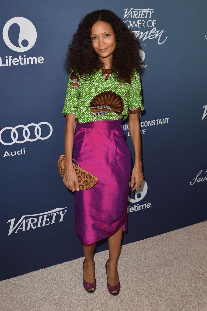 Thandie Newton - Variety 2015 Power Of Women Luncheon in Beverly Hills