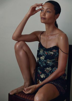 Thandie Newton - W US Magazine (August 2016)