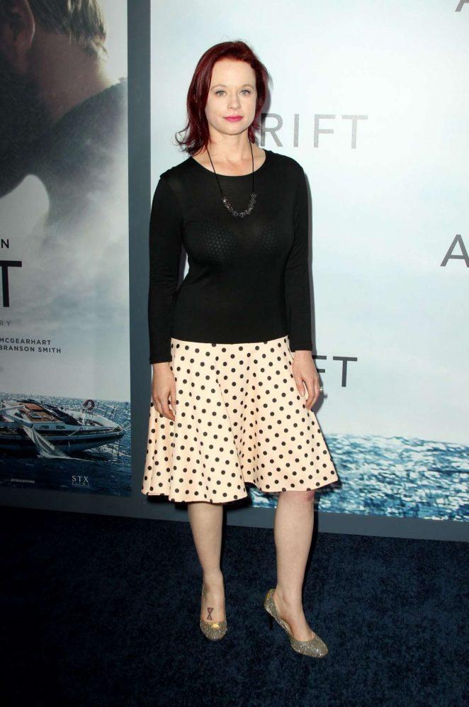 Thora Birch - 'Adrift' Premiere in Los Angeles