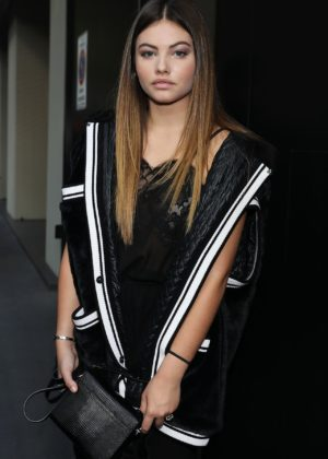 Thylane Blondeau – 2017 Dolce and Gabbana Show in Milan